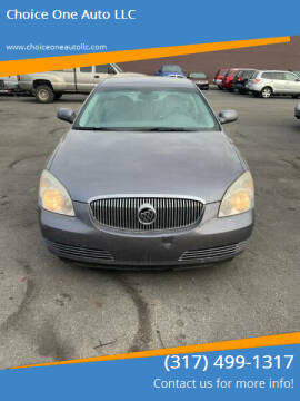 2007 Buick Lucerne for sale at Choice One Auto LLC in Beech Grove IN