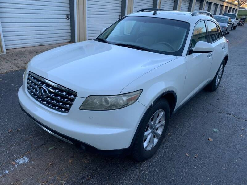 2006 Infiniti FX35 for sale at CAR STOP INC in Duluth GA