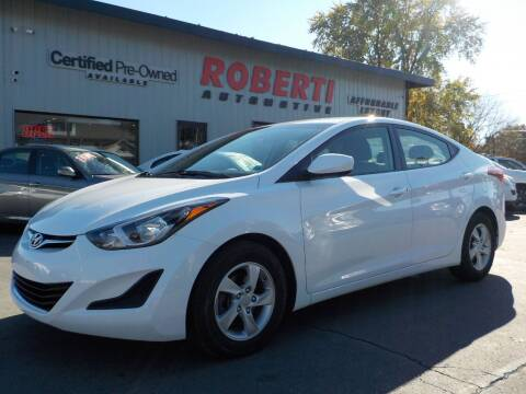 2015 Hyundai Elantra for sale at Roberti Automotive in Kingston NY