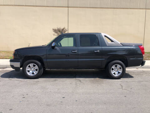 2006 Chevrolet Avalanche for sale at HIGH-LINE MOTOR SPORTS in Brea CA