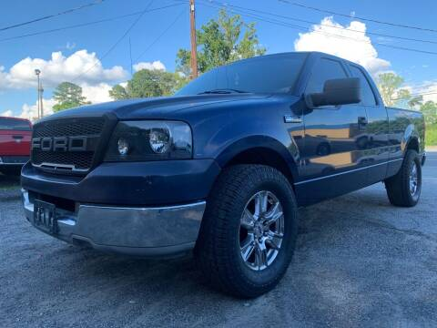 2004 Ford F-150 for sale at ATLANTA AUTO WAY in Duluth GA