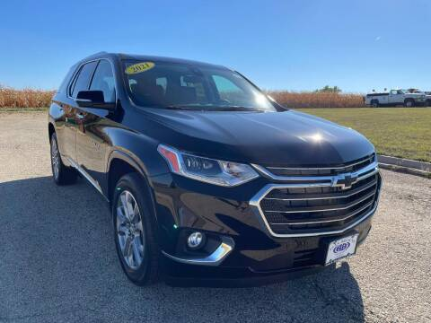 2021 Chevrolet Traverse for sale at Alan Browne Chevy in Genoa IL