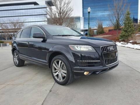 2012 Audi Q7 Premium Plus for sale at Classic Car Deals in Cadillac MI