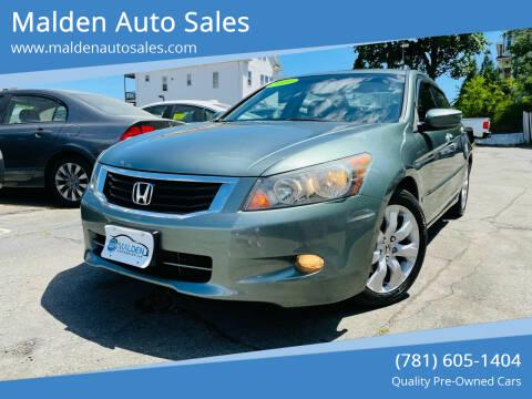 2010 Honda Accord for sale at Malden Auto Sales in Malden MA