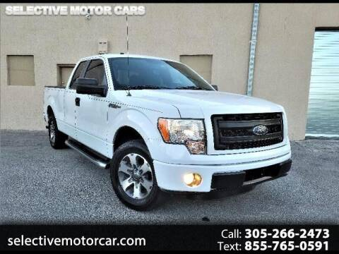 2013 Ford F-150 for sale at Selective Motor Cars in Miami FL