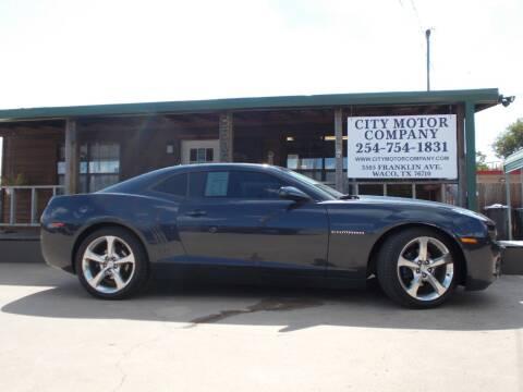 2013 Chevrolet Camaro for sale at CITY MOTOR COMPANY in Waco TX