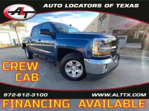 2017 Chevrolet Silverado 1500 for sale at AUTO LOCATORS OF TEXAS in Plano TX