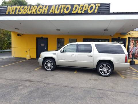 2014 Cadillac Escalade ESV for sale at Pittsburgh Auto Depot in Pittsburgh PA