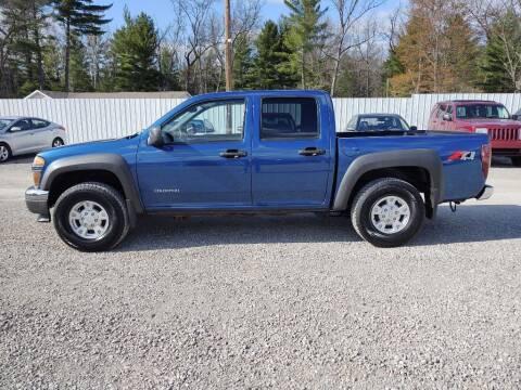 2005 Chevrolet Colorado for sale at Hilltop Auto in Prescott MI