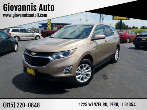 2018 Chevrolet Equinox for sale at Giovannis Auto in Peru IL