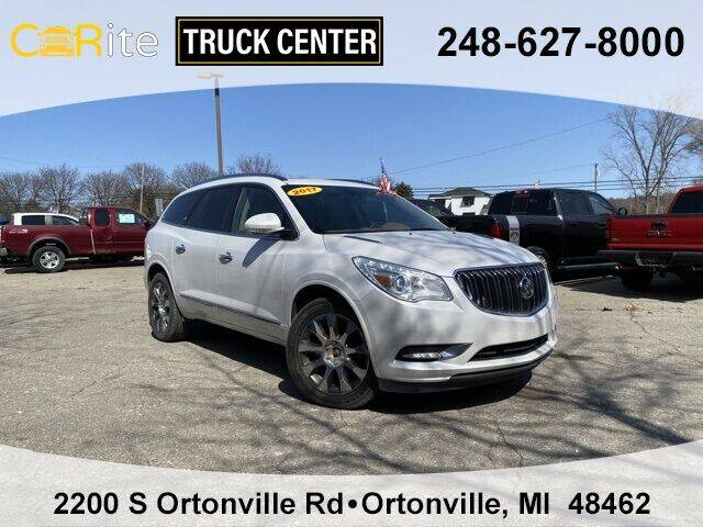 2017 Buick Enclave for sale at Carite Truck Center in Ortonville MI