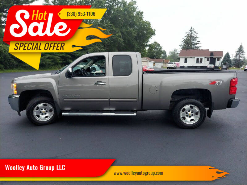 2013 Chevrolet Silverado 1500 for sale at Woolley Auto Group LLC in Poland OH