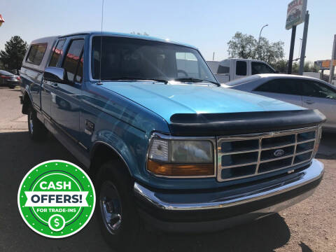 1992 Ford F-150 for sale at Fiesta Motors Inc in Las Cruces NM