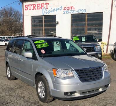 2010 Chrysler Town and Country for sale at Street Visions in Telford PA