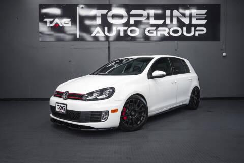 2013 Volkswagen GTI for sale at TOPLINE AUTO GROUP in Kent WA