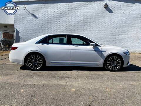2017 Lincoln Continental for sale at Smart Chevrolet in Madison NC