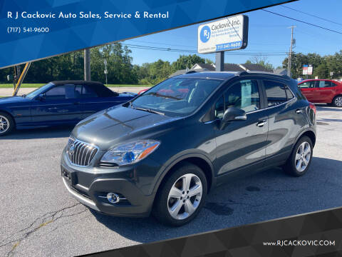 2016 Buick Encore for sale at R J Cackovic Auto Sales, Service & Rental in Harrisburg PA