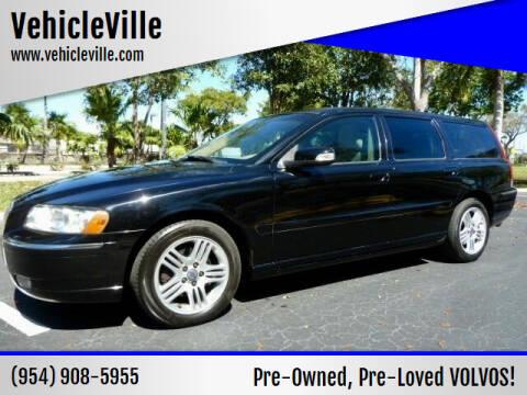 2007 Volvo V70 for sale at VehicleVille in Fort Lauderdale FL