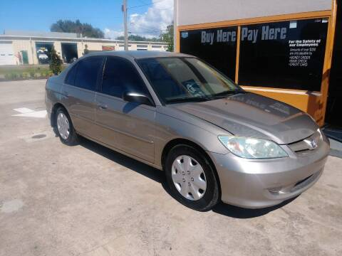 2004 Honda Civic for sale at QUALITY AUTO SALES OF FLORIDA in New Port Richey FL
