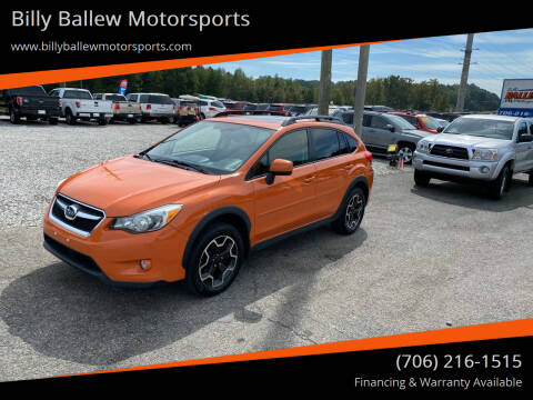2014 Subaru XV Crosstrek for sale at Billy Ballew Motorsports in Dawsonville GA