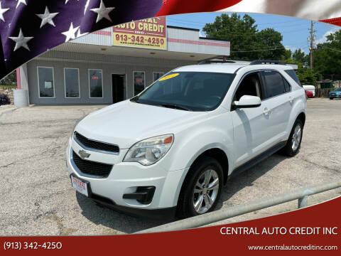 2011 Chevrolet Equinox for sale at Central Auto Credit Inc in Kansas City KS