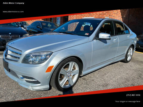 2011 Mercedes-Benz C-Class for sale at Aiden Motor Company in Portsmouth VA