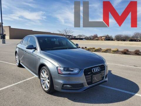 2014 Audi A4 for sale at INDY LUXURY MOTORSPORTS in Fishers IN