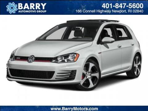 2015 Volkswagen Golf GTI for sale at BARRYS Auto Group Inc in Newport RI