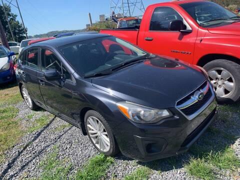 2012 Subaru Impreza for sale at Trocci's Auto Sales in West Pittsburg PA