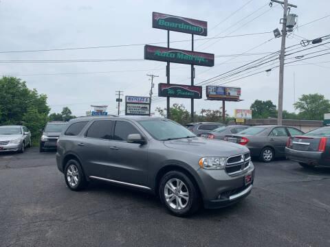 2011 Dodge Durango for sale at Boardman Auto Mall in Boardman OH