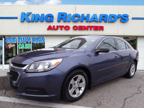 2015 Chevrolet Malibu for sale at KING RICHARDS AUTO CENTER in East Providence RI
