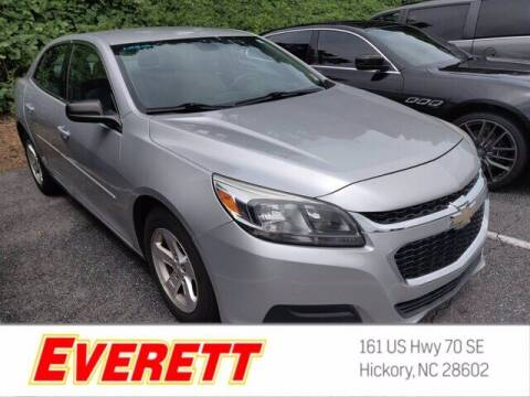 2015 Chevrolet Malibu for sale at Everett Chevrolet Buick GMC in Hickory NC
