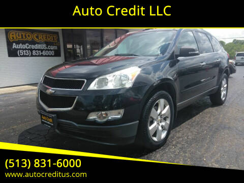 2012 Chevrolet Traverse for sale at Auto Credit LLC in Milford OH