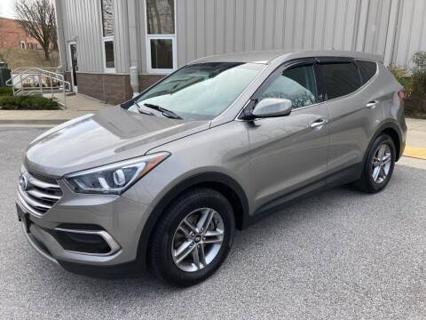 2017 Hyundai Santa Fe Sport for sale at AMERICAR INC in Laurel MD