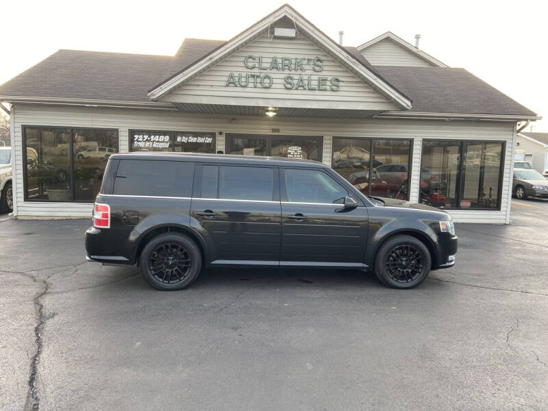 2014 Ford Flex for sale at Clarks Auto Sales in Middletown OH