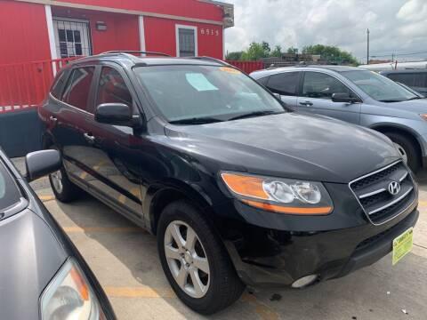 2009 Hyundai Santa Fe for sale at JORGE'S MECHANIC SHOP & AUTO SALES in Houston TX