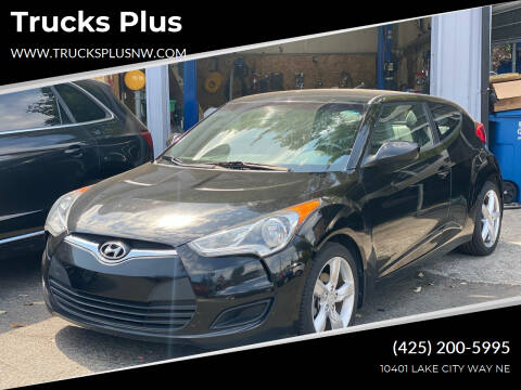 2013 Hyundai Veloster for sale at Trucks Plus in Seattle WA