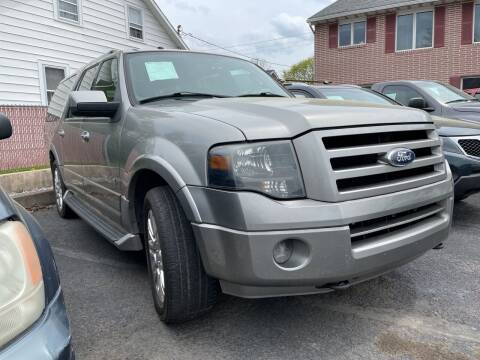 2008 Ford Expedition EL for sale at Rine's Auto Sales in Mifflinburg PA