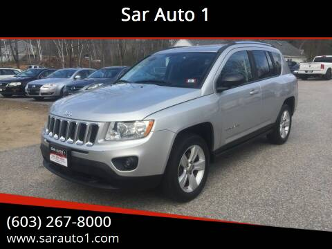 2011 Jeep Compass for sale at Sar Auto 1 in Belmont NH