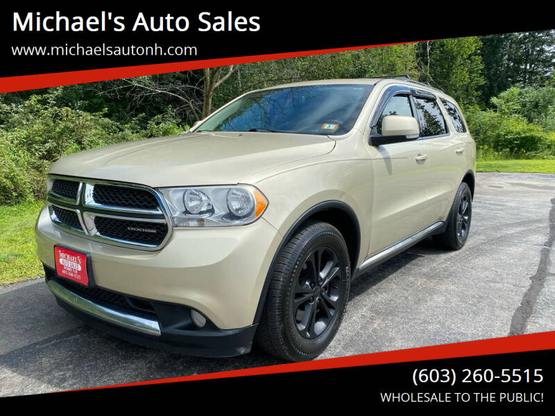 2011 Dodge Durango for sale at Michael's Auto Sales in Derry NH