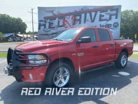 2017 RAM Ram Pickup 1500 for sale at RED RIVER DODGE - Red River of Malvern in Malvern AR