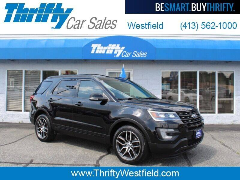 2016 Ford Explorer for sale at Thrifty Car Sales Westfield in Westfield MA