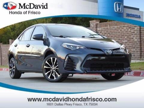 2018 Toyota Corolla for sale at DAVID McDAVID HONDA OF IRVING in Irving TX