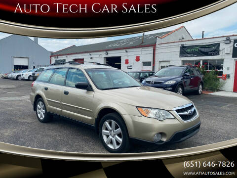 2009 Subaru Outback for sale at Auto Tech Car Sales in Saint Paul MN