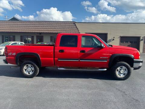 2006 Chevrolet Silverado 2500HD for sale at MAGNUM MOTORS in Reedsville PA