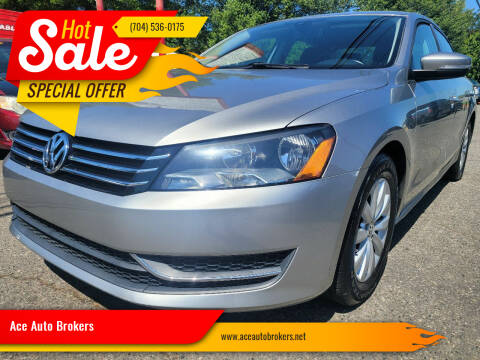 2014 Volkswagen Passat for sale at Ace Auto Brokers in Charlotte NC