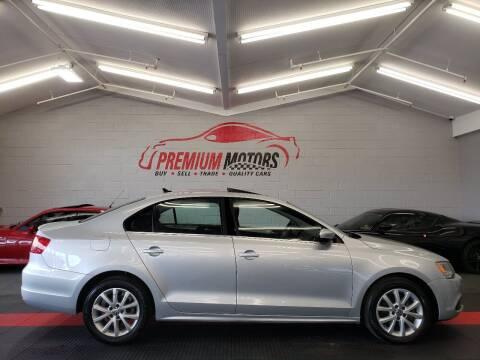 2013 Volkswagen Jetta for sale at Premium Motors in Villa Park IL