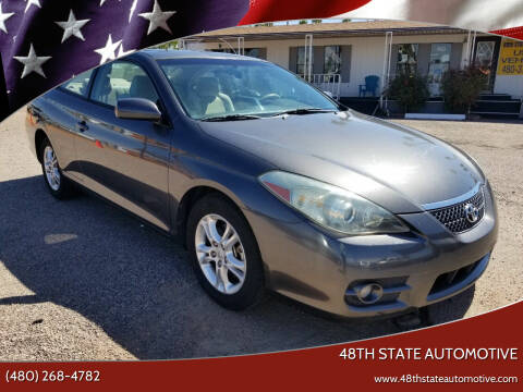 2007 Toyota Camry Solara for sale at 48TH STATE AUTOMOTIVE in Mesa AZ