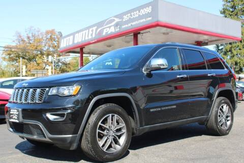 2018 Jeep Grand Cherokee for sale at Deals N Wheels 306 in Burlington NJ