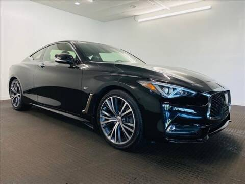 2017 Infiniti Q60 for sale at Champagne Motor Car Company in Willimantic CT